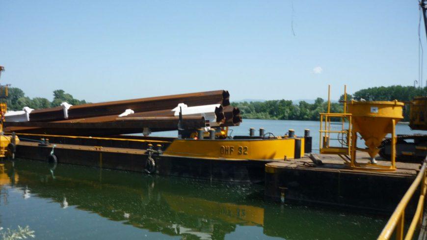 Metalu Holland liefert schwimmende Stege für die Erweiterung einer Marina in Offendorf, Frankreich.