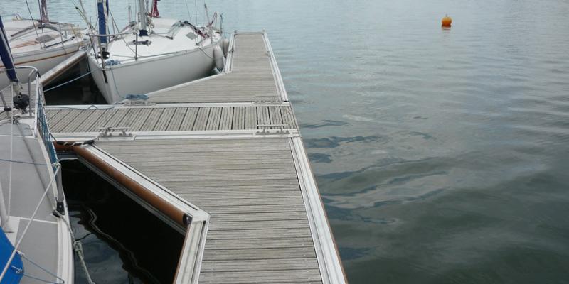 aluminium-ponton