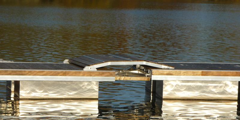 Drijvende-ponton
