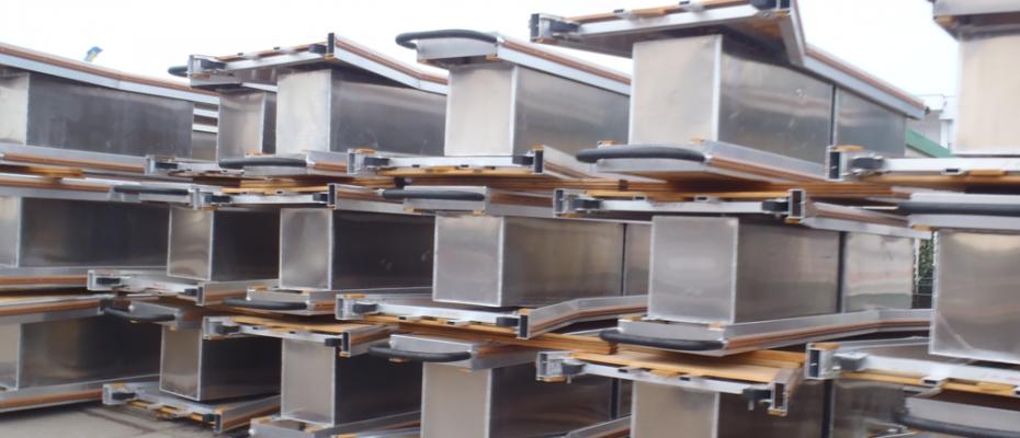 Aluminium drijvende steigers van hoogwaardig kwaliteit.